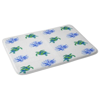 Laura Trevey Sea Turtles Bath Rug