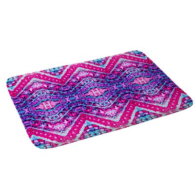Amy Sia Marrekech Magenta Bath Rug