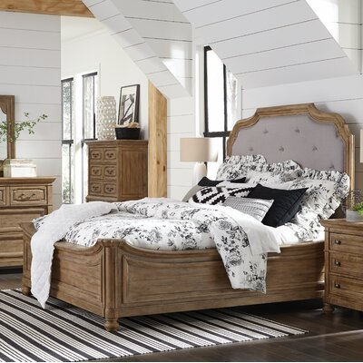 LaSalle Upholstered Platform Bed