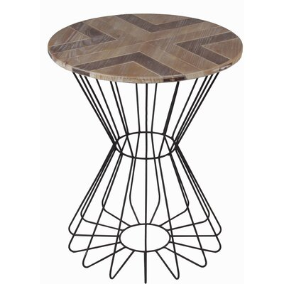 Hepner Round End Table