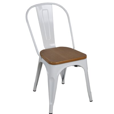 McBain Side Chair Finish: White
