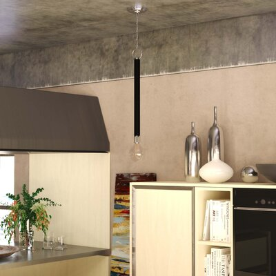 Dinapoli 1-Light Mini Pendant Finish: Polished Nickel