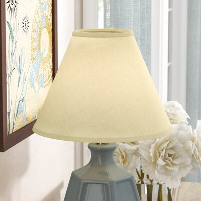 10 Linen Empire Lamp Shade Color: Champagne