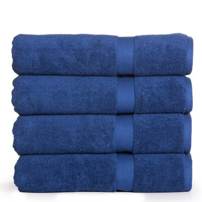 Eisenbarth Oversized Bath Sheet Color: Navy