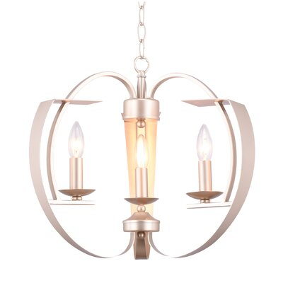 Verbena 3-Light Candle-Style Chandelier