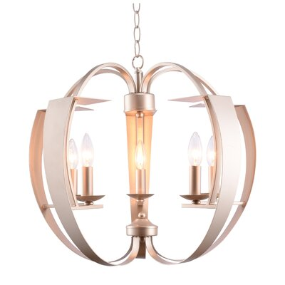 Verbena 5-Light Candle-Style Chandelier