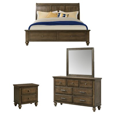 Wroten Platform Configurable Bedroom Set