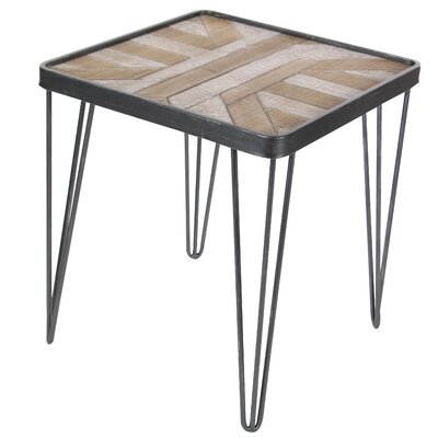 Opperman Geometric End Table