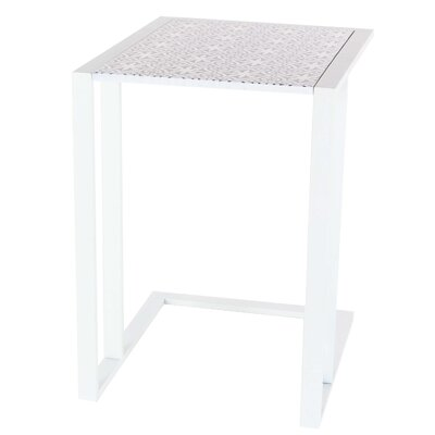 Arsenovic End Table Color: Black