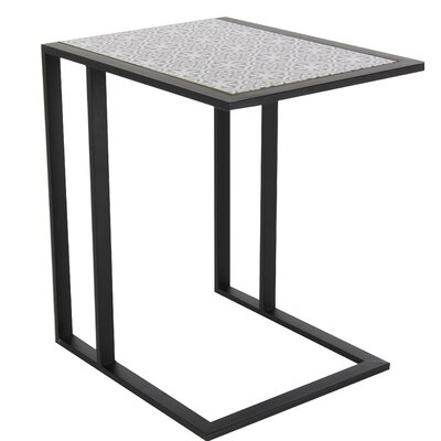 Arsenovic End Table Color: White