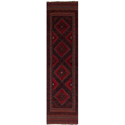 One-of-a-Kind Bilbania Hand-Knotted Wool�Red Area Rug