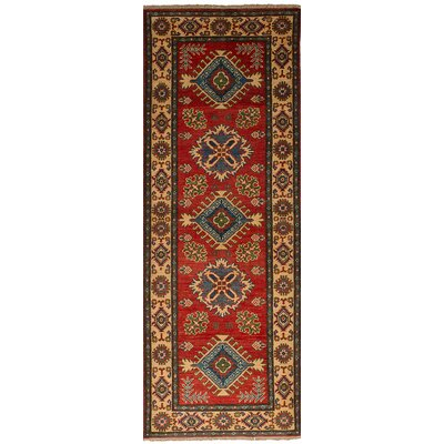One-of-a-Kind Bernard Hand-Knotted Wool�Red Area Rug