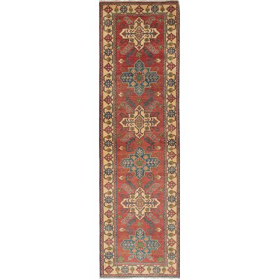 One-of-a-Kind Bernard Hand-Knotted Wool Dark Copper Area Rug