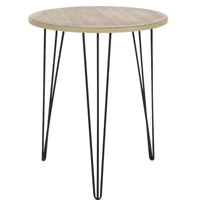 Perryville Wood Round End Table