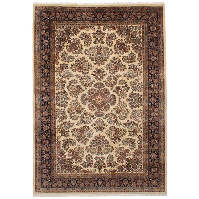 One-of-a-Kind Charline Hand-Knotted Wool�Cream Area Rug