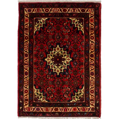 One-of-a-Kind Goodyear Hand-Knotted Wool�Red Area Rug