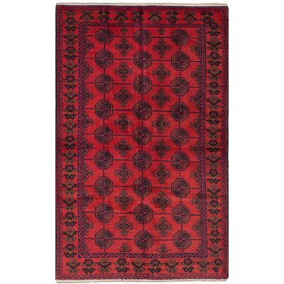 One-of-a-Kind Bilbo Hand-Knotted Wool�Dark Copper Area Rug
