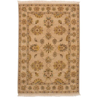 One-of-a-Kind Charlena Hand-Knotted Wool�Ivory Area Rug