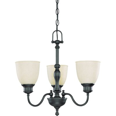 Killough 3-Light Candle-Style Chandelier Finish: Aged Bronze