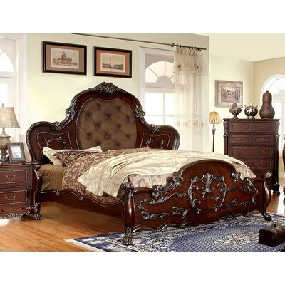 Rudnick Upholstered Platform Bed Size: California King