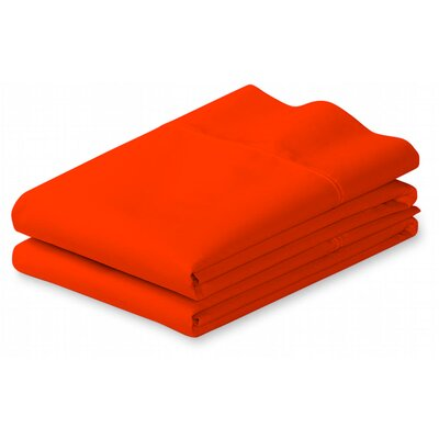 Putney Pillow Case Size: Full/Queen, Color: Orange