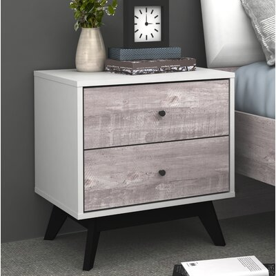 Laprade 2 Drawer Nightstand