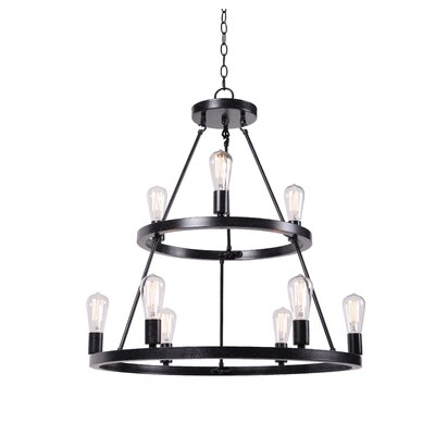 Charndon 9-Light Candle-Style Chandelier