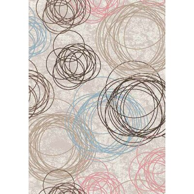 Papaleo Light Gray Area Rug Rug Size: Rectangle 5 x 66
