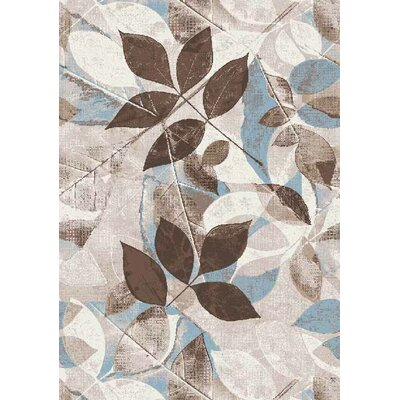 Hinrichs Gray Area Rug Rug Size: Rectangle 5 x 66