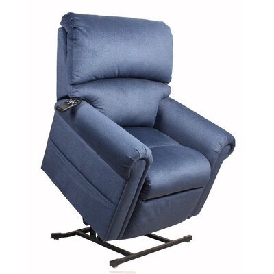 Windham Power Lift Assist Recliner Upholstery: Lapis, Massaging/Heating: Yes