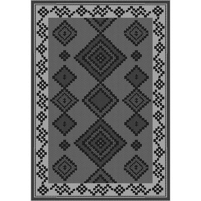 Tubbs Gray Indoor/Outdoor Area Rug Rug Size: Runner 27 x 79