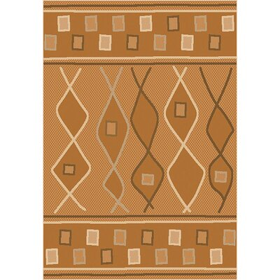 Tubbs Beige Indoor/Outdoor Area Rug Rug Size: Rectangle 53 x 76