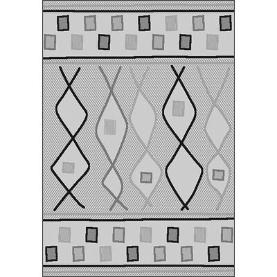 LePage Gray Indoor/Outdoor Area Rug Rug Size: Rectangle 710 x 10