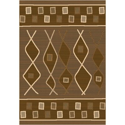 LePage Brown Indoor/Outdoor Area Rug Rug Size: Runner 27 x 79