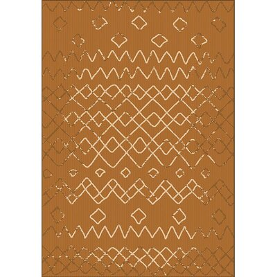 Tubbs Dust Brown Indoor/Outdoor Area Rug Rug Size: Rectangle 710 x 10