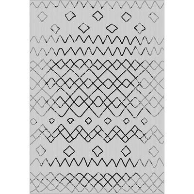 Tubbs Gray Indoor/Outdoor Area Rug Rug Size: Rectangle 710 x 10