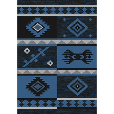 Tubbs Blue Indoor/Outdoor Area Rug Rug Size: Runner 27 x 79
