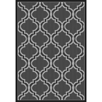 Vinton Gray Indoor/Outdoor Area Rug Rug Size: Rectangle 53 x 76