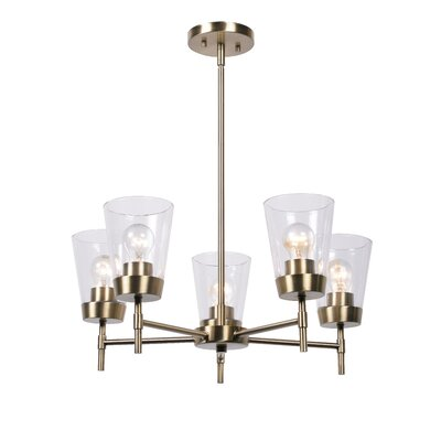 Abernethy 5-Light Candle-Style Chandelier
