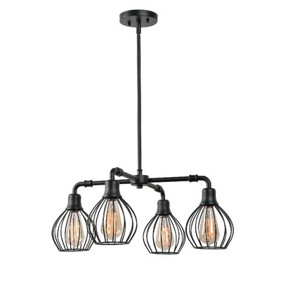 Krouse 4-Light Candle-Style Chandelier