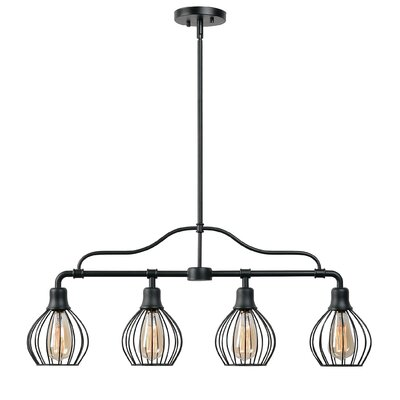 Krouse 4-Light Kitchen Island Pendant
