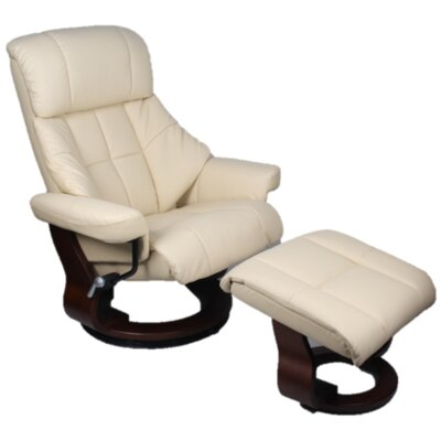 Bergamo Power Swivel Recliner Upholstery: Premium - Chocolate
