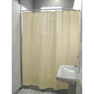 Landaverde Shower Curtain Color: Hemp