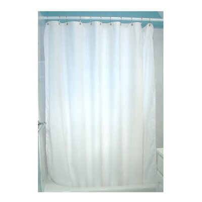 Landaverde Shower Curtain Color: White
