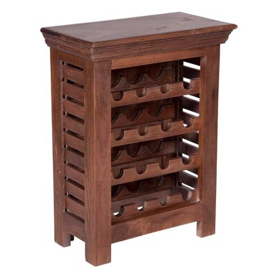 Truesdale 16 Bottle Floor Wine Rack