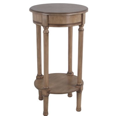 Keisler Round End Table Color: Brown