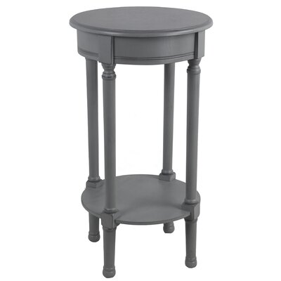 Keisler Round End Table Color: Gray
