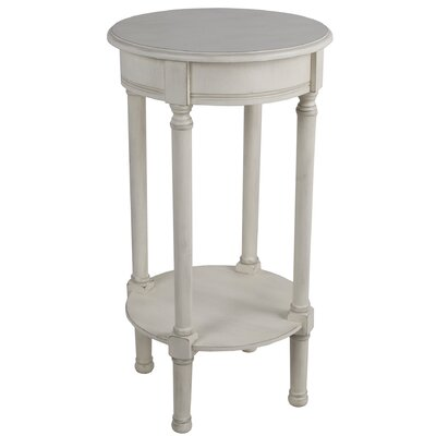 Keisler Round End Table Color: Off White