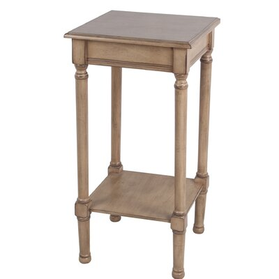 Keister Square End Table Color: Brown