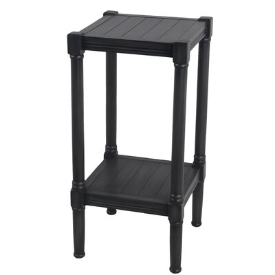 Kelch Square End Table Color: Black